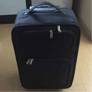 キャリーバッグ 黒(トラベルバッグ/スーツケース)