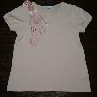 シャーリーテンプル(Shirley Temple)のシャーリーテンプル140150 トウシューズTシャツ(Tシャツ/カットソー)