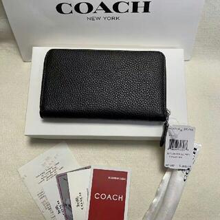 COACH 財布 未使用 F93768 とんすけ ブラック(その他)