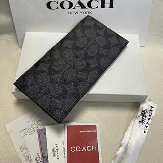 ★セール COACH(コーチ)折り財布 F75013 ブラウン(その他)