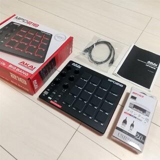 MPD218+延長USBケーブルセット(DAWソフトライセンス有り)(MIDIコントローラー)