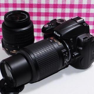 Nikon - ⭐︎遠くの撮影もバッチリ⭐︎Nikon D5000 ダブルズーム一眼レフ