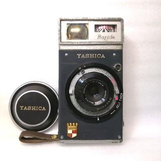 キョウセラ(京セラ)の博物館級、露出計作動 YASHICA RAPIDE ヤシカラピード(フィルムカメラ)