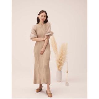 RDNDEBOO Puff knit dress