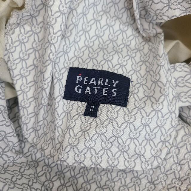 PEARLY GATES(パーリーゲイツ)の新品/パーリーゲイツ/pg/ベージュ スポーツ/アウトドアのゴルフ(ウエア)の商品写真