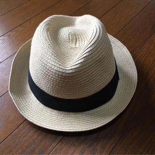 ジーユー(GU)のGU 麦わら帽子 ストローハット 美品(麦わら帽子/ストローハット)