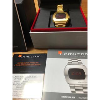 ハミルトン(Hamilton)の破格‼️ハミルトン 腕時計 PSR ゴールド(腕時計(デジタル))