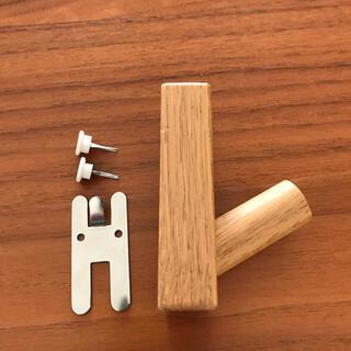 ムジルシリョウヒン(MUJI (無印良品))の無印良品 壁に付けられる家具フック オーク材(その他)