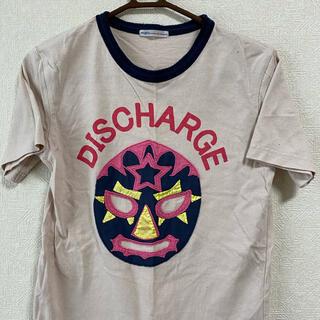 rough - ラフ Tシャツ かわいいマスク柄