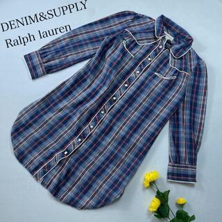 デニムアンドサプライラルフローレン(Denim & Supply Ralph Lauren)のDENIM&SUPPLY RALPH LAUREN シャツワンピース チェック(その他)