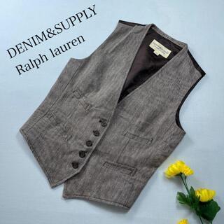 デニムアンドサプライラルフローレン(Denim & Supply Ralph Lauren)のDENIM&SUPPLY Ralph lauren ベスト ジレ ボタン(ベスト/ジレ)