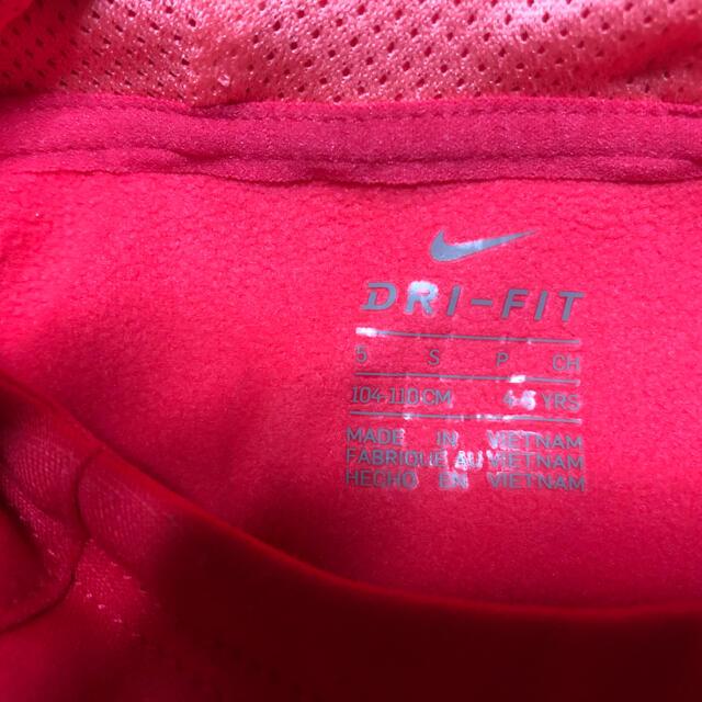 NIKE(ナイキ)のNIKE パーカー110 キャップ キッズ/ベビー/マタニティのキッズ服女の子用(90cm~)(ジャケット/上着)の商品写真