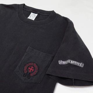 Chrome Hearts - 90s クロムハーツ ホースシュー 刺繍 ポケット Tシャツ