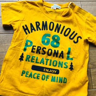 サンカンシオン(3can4on)の美品☆3can4on  80 男の子 バックプリント 半袖 Tシャツ カッコいい(Tシャツ)
