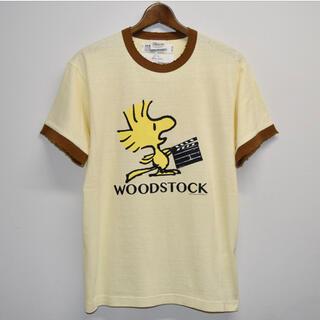 """UNUSED - DAIRIKU """"WOODSTOCK"""" Silk Trim Tee"""