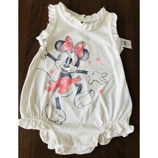babyGAP - 新品☆GAP 80 ディズニー ミニーちゃん 半袖 ロンパース Tシャツ 女の子