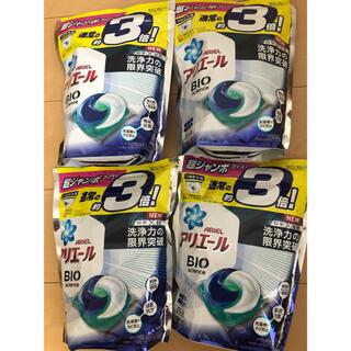 P&G - アリエールBIOジェルボール つめかえ超ジャンボサイズ (46個入*4袋セット)