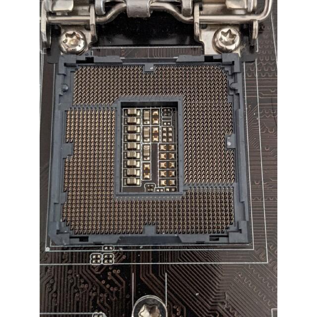ASUSZ87M-PLUS マザーボード 通電確認ジャンク スマホ/家電/カメラのPC/タブレット(PCパーツ)の商品写真