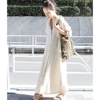 Plage - Plage Linen シャツワンピース