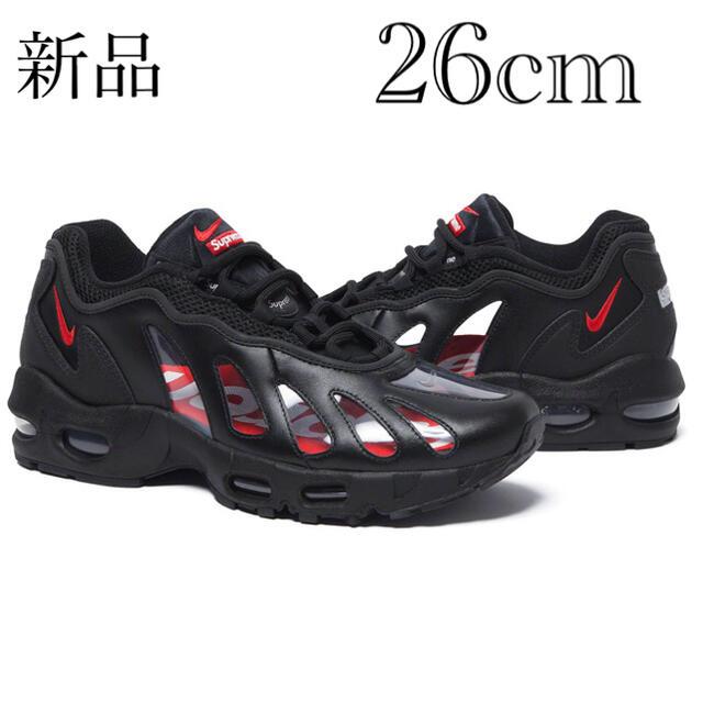 Supreme(シュプリーム)のNIKE エアマックス96 supreme 26㎝ メンズの靴/シューズ(スニーカー)の商品写真