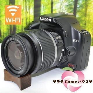 Canon - キヤノン Kiss X2☆スマホ転送OK☆入門一眼レフ♪1639