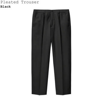 Supreme - Supreme 21ss 新作 Pleated Trouser Black 32