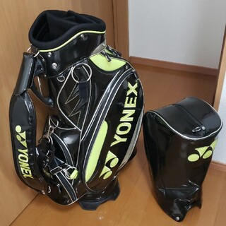 YONEX - ヨネックス YONEX キャディバッグ 3点式 美品 ゴルフバッグ