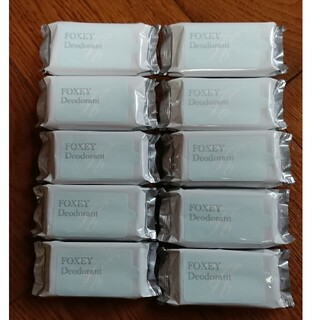 フォクシー(FOXEY)のFOXEY デオドラントシート 10個(制汗/デオドラント剤)
