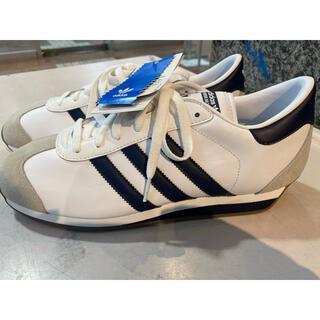 アディダス(adidas)の2010 adidas カントリー OG 白×紺 US9 新品(スニーカー)