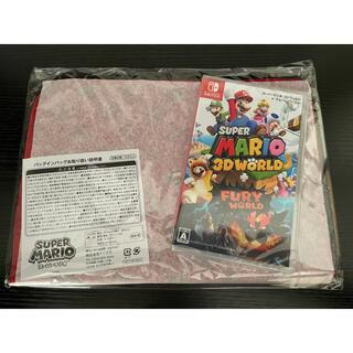 ニンテンドースイッチ(Nintendo Switch)のスーパーマリオ 3Dワールド + フューリーワールド セブンネット限定バッグ付(家庭用ゲームソフト)