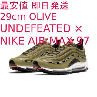ナイキ(NIKE)の最安値 UNDEFEATED x NIKE AIR MAX 97 29cm(スニーカー)