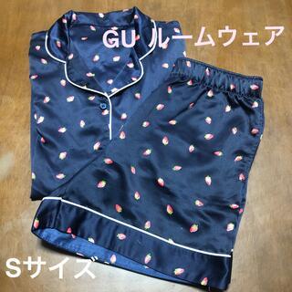 ジーユー(GU)のGU  ルームウェア  イチゴ柄(Sサイズ)(ルームウェア)