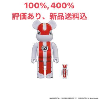 MEDICOM TOY - 【新品未開封、送料込】LBWK ベアブリック リバZ君 100%+400%