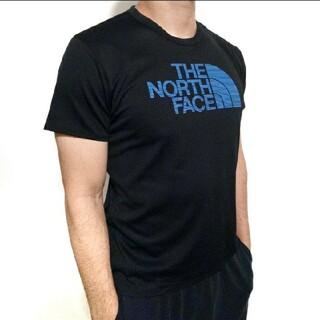 THE NORTH FACE - ザ・ノースフェイス Tシャツ メンズ 黒 ブラック ロゴ トレーニングウエア L