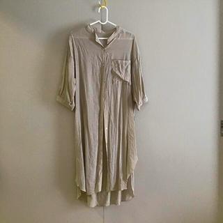 しまむら - しまむら 五分丈 シャツ 羽織  シアーシャツ Mサイズ