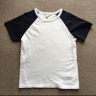 ムジルシリョウヒン(MUJI (無印良品))の120 無印良品 半袖Tシャツ(Tシャツ/カットソー)