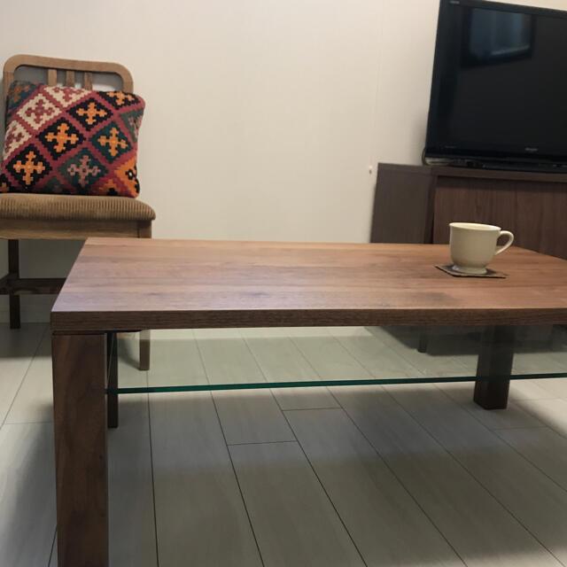 ACTUS(アクタス)のACTUS アクタス テーブル リーヴス ウニコ IKEA カリモク  インテリア/住まい/日用品の机/テーブル(ローテーブル)の商品写真
