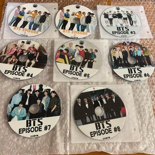 防弾少年団(BTS) - BTS EPISODE    DVD8枚セット