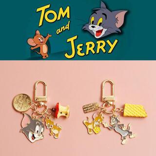 トムとジェリー 2点セットキーホルダー  新品 チャーム 人気