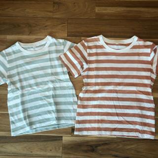ムジルシリョウヒン(MUJI (無印良品))の無印 ボーダーT セット(Tシャツ/カットソー)
