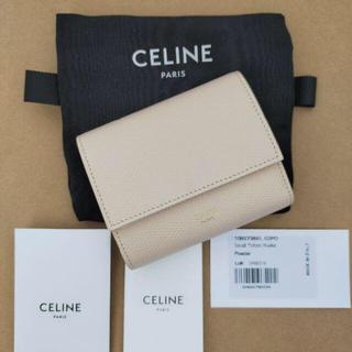 celine - セリーヌ CELINE スモール トリフォールド 三つ折り 財布 日本未入荷品