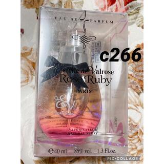 エステルドバルローズ(ESTELLE DE VALROSE)のc266 エステルドヴァルローズ ローズルビー 40ml(香水(女性用))