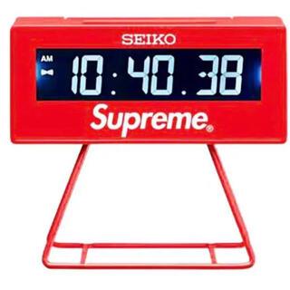 シュプリーム(Supreme)の新品未使用 supreme Seiko Marathon Clock セイコー(置時計)
