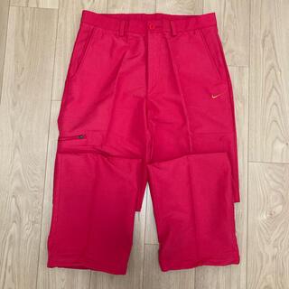 ナイキ(NIKE)のナイキゴルフパンツ RED 33 M(ウエア)