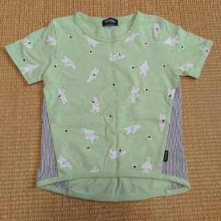 kladskap - クレードスコープ Tシャツ 110サイズ 中古 白くまおにぎり