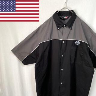 ディッキーズ(Dickies)のTMR 半袖ワークシャツ 企業ロゴ(シャツ)