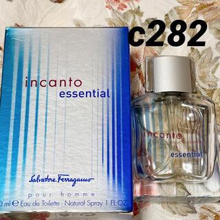 フェラガモ(Ferragamo)のc282 フェラガモ インカント プールオム エッセンシャル 30ml(香水(男性用))