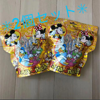 ディズニー(Disney)の【即購入OK❤︎新品未開封】ディズニーパスタスナック 2個(菓子/デザート)