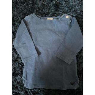 アーバンリサーチ(URBAN RESEARCH)のアーバンリサーチ フォーク&スプーン バスクシャツ トップス ブルー(Tシャツ/カットソー)