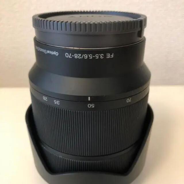 SONY(ソニー)のSONY FE28-70F3.5-5.6OSSレンズのみ スマホ/家電/カメラのカメラ(レンズ(ズーム))の商品写真